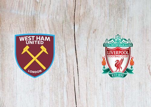 West Ham United vs Liverpool Full Match & Highlights 29 January 2020