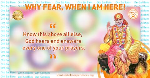 Prayers To God - Sai Baba Blessing Hand Painting Image