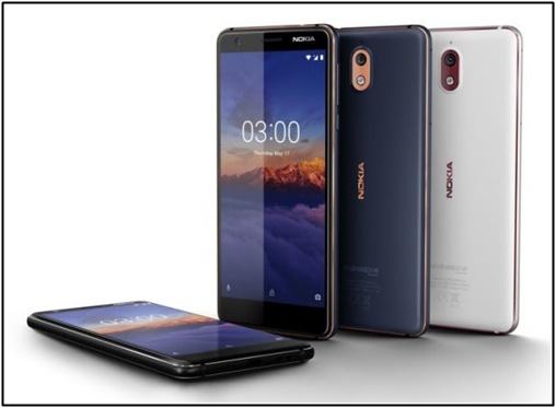 Telefon Pintar Nokia 3.1 terbaru di Malaysia berharga RM655