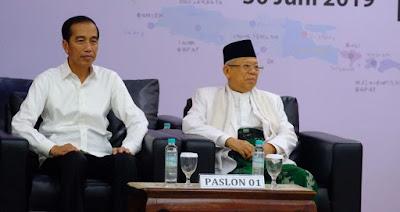 Jadi Presiden Untuk Kedua Kalinya, Jokowi: Alhamdulillah...