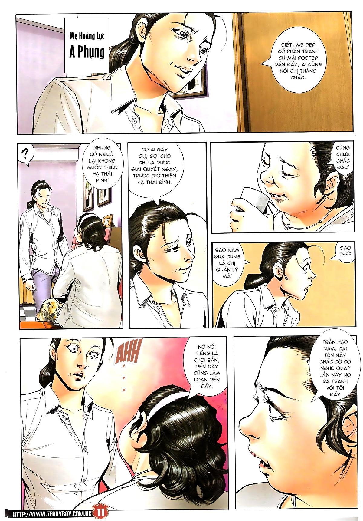 Người Trong Giang Hồ chapter 1643: tuyển cử cấp bách trang 9