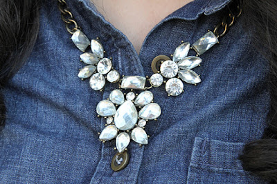 Crystal Statement Necklace Rocksbox