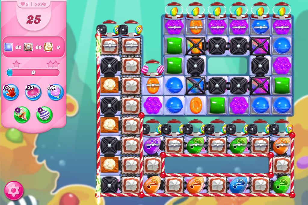 Candy Crush Saga level 5690