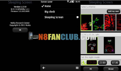 Protect your nokia n8 apps with password via melon security lock.