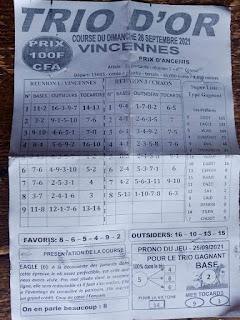 Pronostic quinté dimanche Paris-Turf TV-100 % 26/09/2021