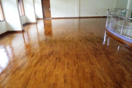 jenis kayu untuk lantai 2 - parket jati