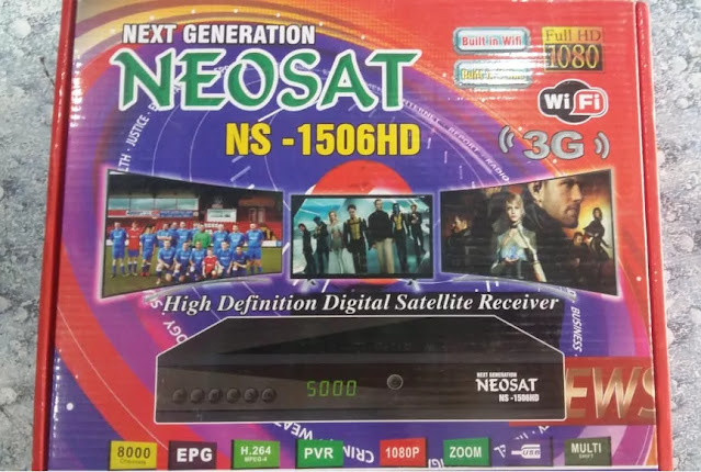 NEOSAT NS-1506HD BUILT IN WIFI NEW SOFTWARE WITH INTERNAL & EXTERNAL WIFI OPTION 28 JUNE 2021