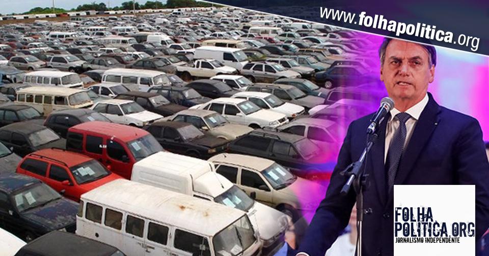 Bolsonaro anuncia MP para agilizar venda de bens do tráfico: 'combater o crime com os recursos do crime'