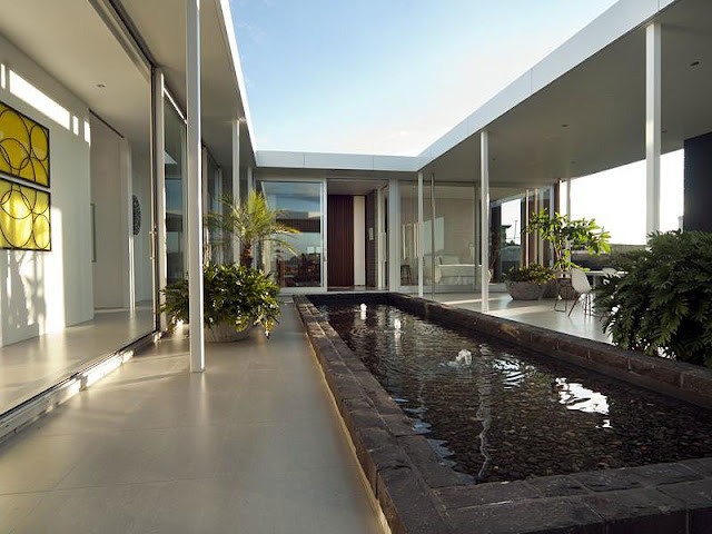 Minimalist Green and White Residence Minimalist Green and White Residence Taumata House 09