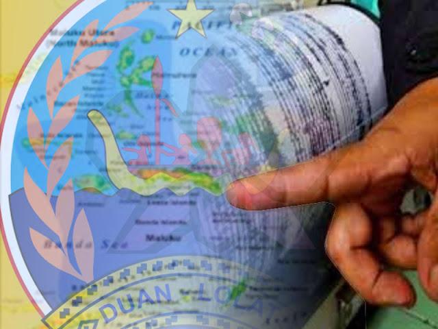 Gempa 4,5 SR Guncang Utara Kepulauan Tanimbar