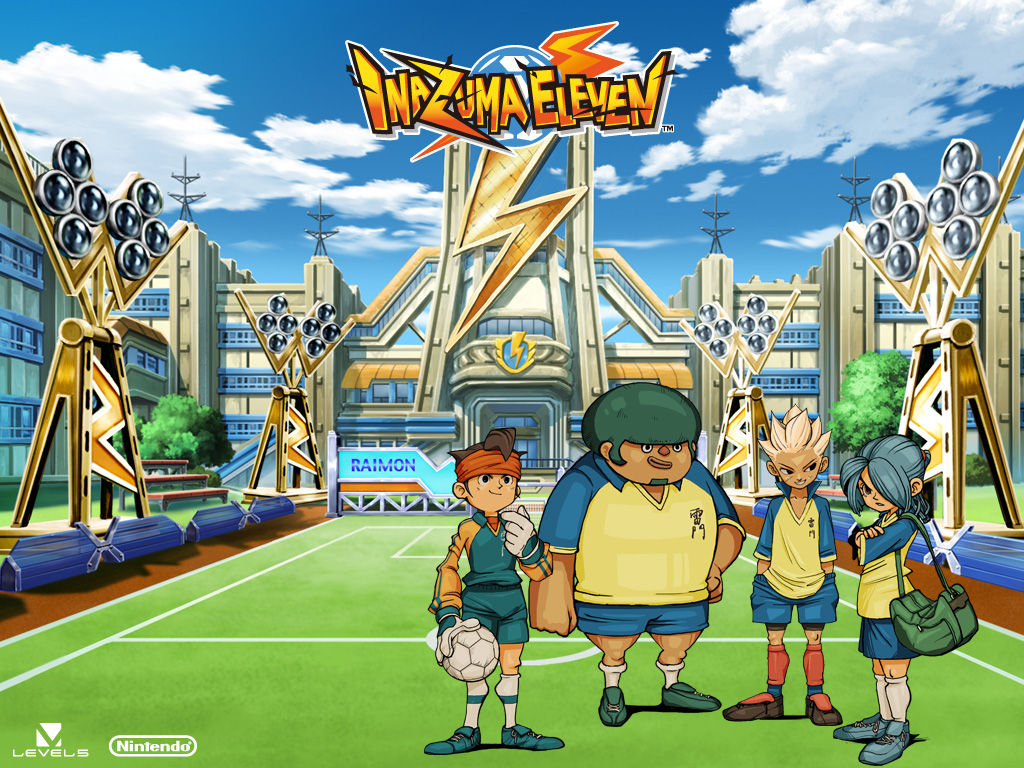 INAZUMA ELEVEN NINTENDO VIDEOGAME WALLPAPERS