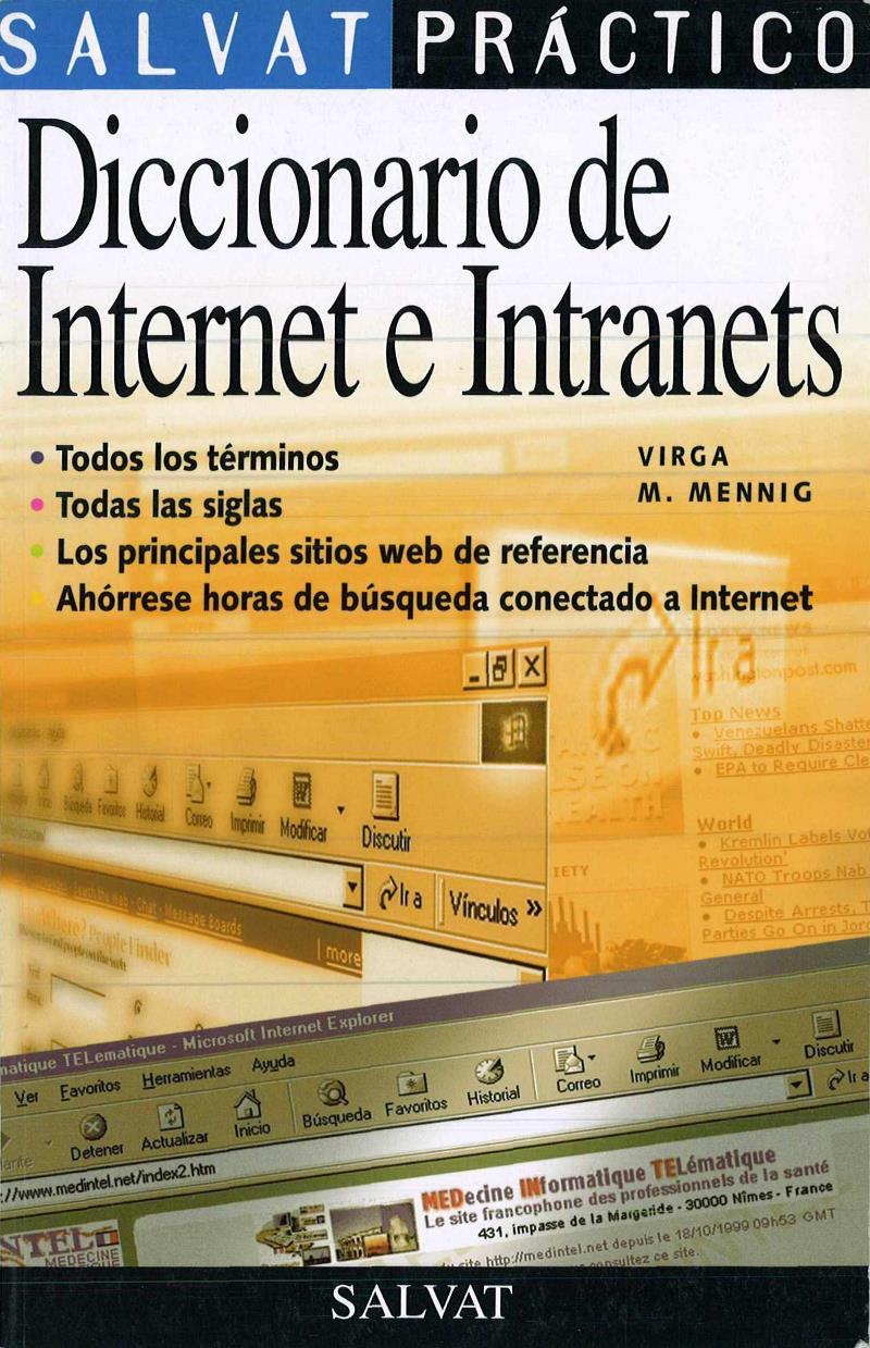 Diccionario de internet e intranets – Virga M. Menning