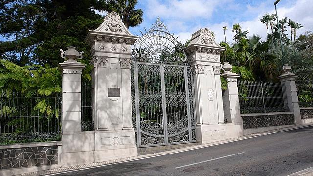 Antigua y originaria puerta del Jardín Botánico