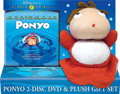 Ponyo DVD and Plush Toy Gift Set