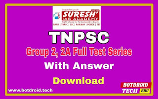 suresh ias academy tnpsc group 2 test series
