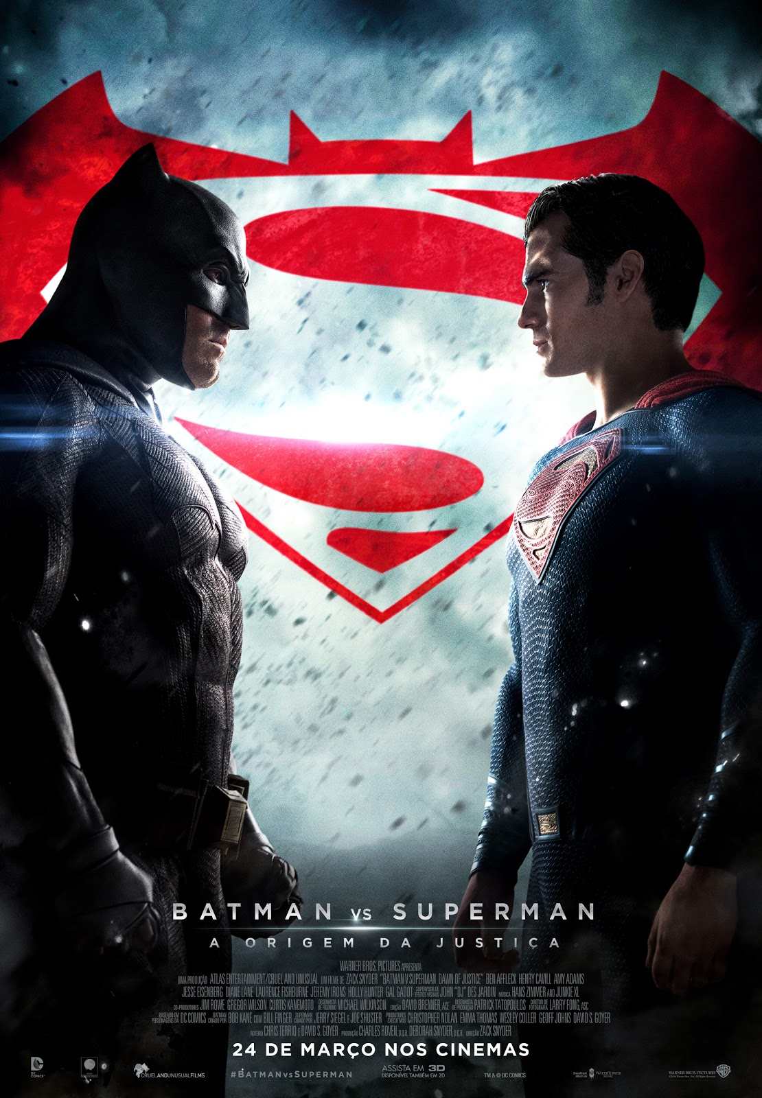 Batman v Superman Dawn of Justice Movie Novo Filme de Zack Snyder - Lealtudo
