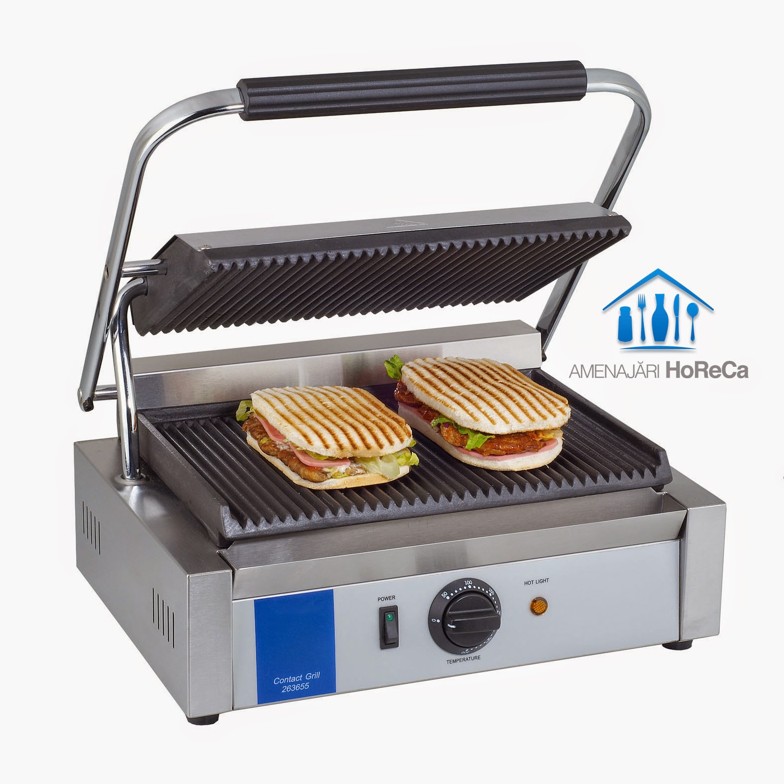Sandwich Maker Profesional, contact grill, pret, bucatarii profesionale, horeca