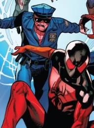 Spider-Cop apareció en Spider-Geddon