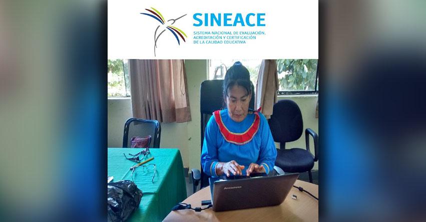 SINEACE autoriza al Ministerio de Cultura a certificar expertos en comunicaciones en lenguas indígenas originarias - www.sineace.gob.pe