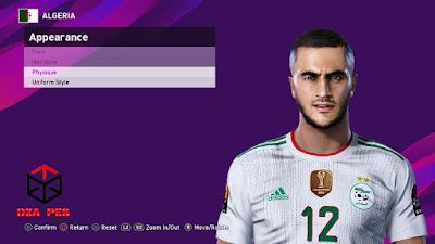 PES 2021 Faces Adam Ounas by Dzayer PES