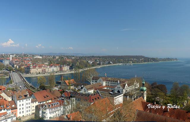 Desembocadura del Rin en lago Constanza