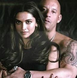 Deepika Padukone With Diesel