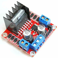 Control Motor Dc with module L298N Arduino