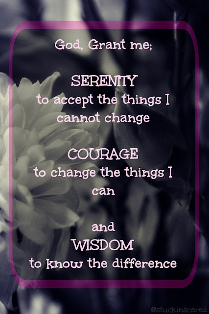 Serenity Prayer. via @stuckinscared ... Written Gambling Therapy.