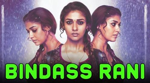 Bindass Rani Kolamavu Kokila 2019 Hindi Dubbed