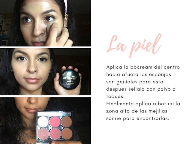Maquillaje para principiantes base, polvo y rubor