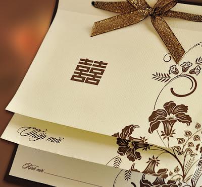 In thiệp cưới giá rẻ nhất tại Hà Nội