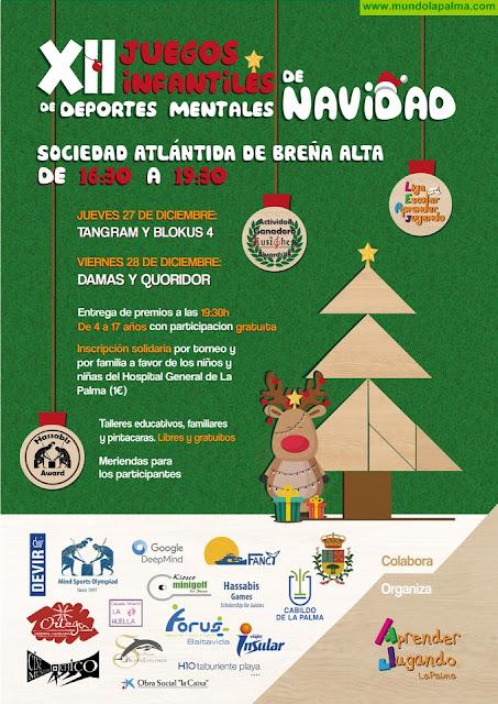 XII Juegos Infantiles de Deportes MentalesdDe Navidad en Breña Alta (de 4 a 17 años)