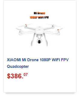 Drone da Xiaomi com câmera FULL HD