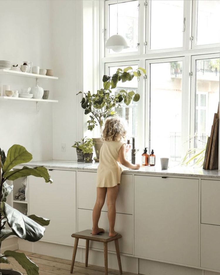 A Copenhagen Family Home In Soothing Light Tones
