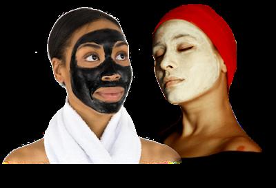 Máscaras com Argila - para os cabelos e rosto