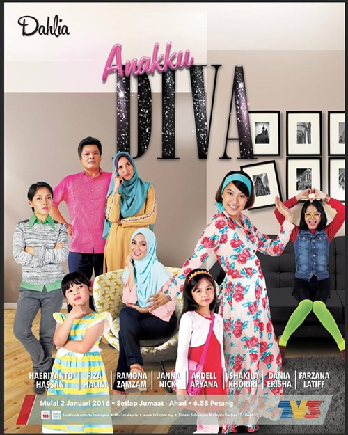 Original Sound Track OST Anakku Diva TV3, lagu tema drama Anakku Diva TV3, lagu latar, download OST Anakku Diva TV3, tonton video klip lagu Bukan Lagu Cinta - Reyza Hamizan