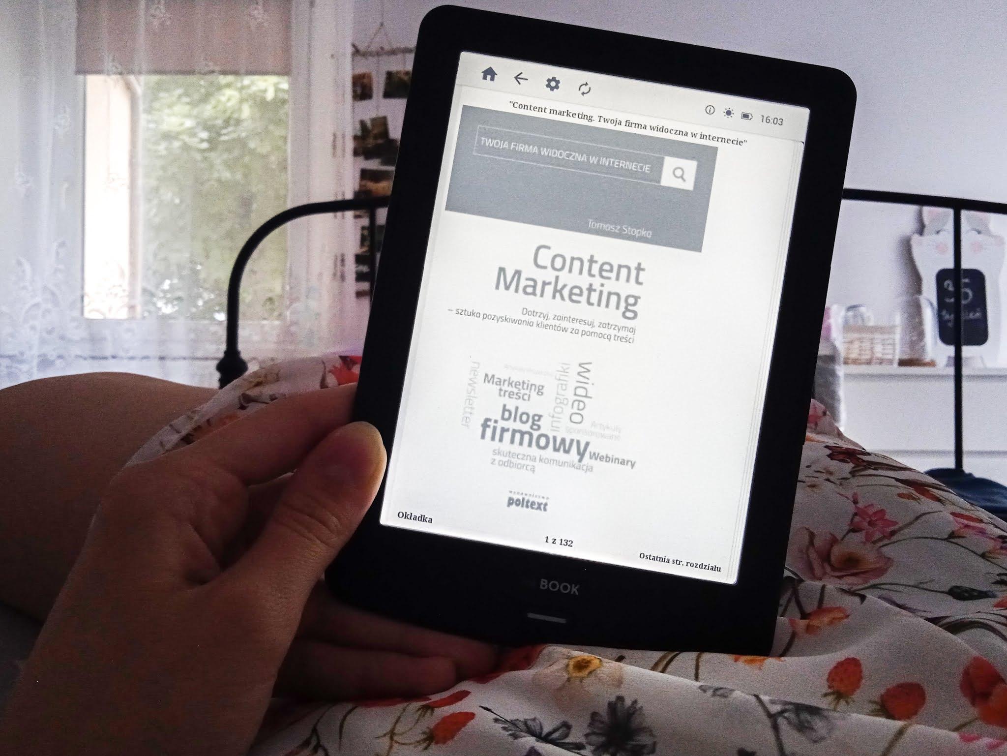 """Content Marketing"" Tomasz Stopka recenzja"