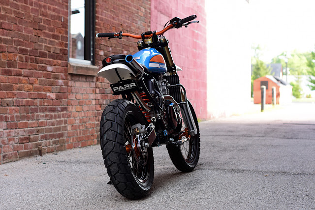 Suzuki DR650 By Parr Motorcycles Hell Kustom
