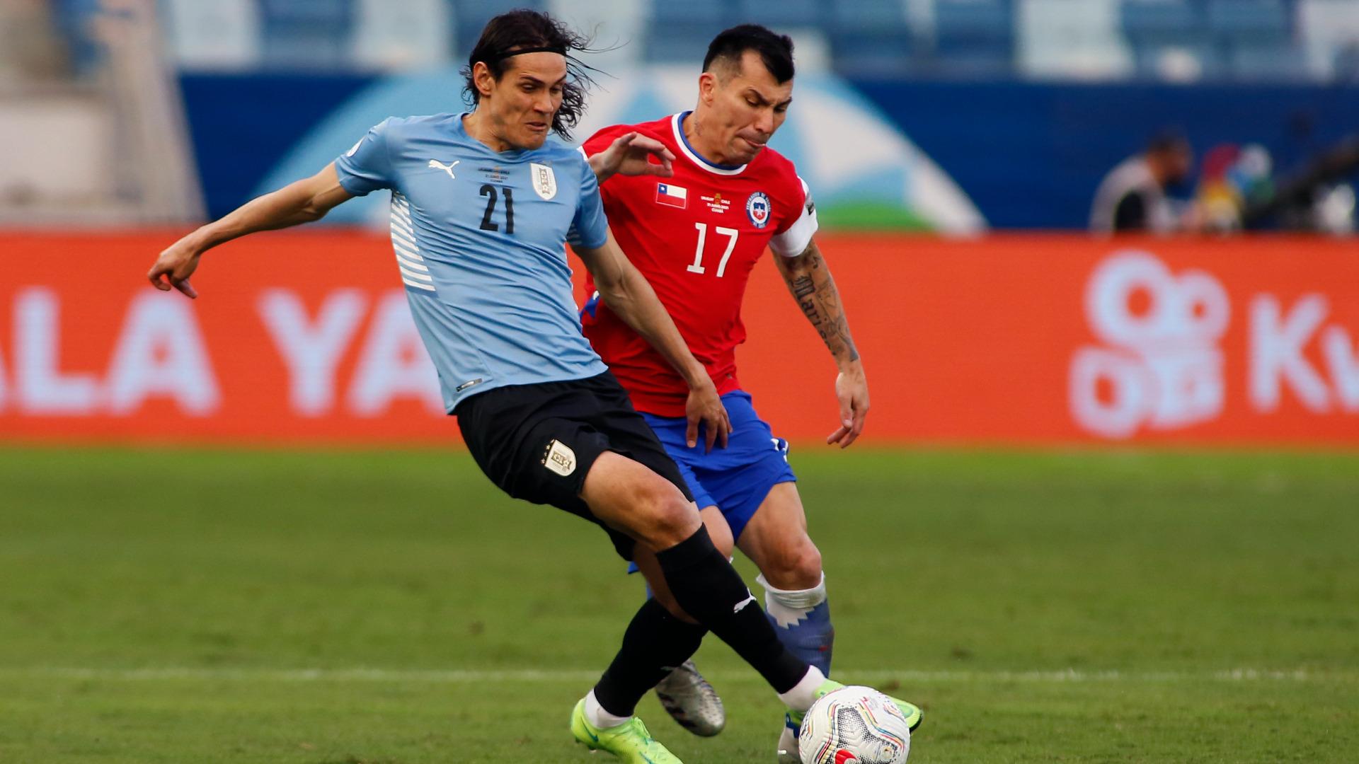 Uruguay y Chile en Copa América 2021, 21 de junio