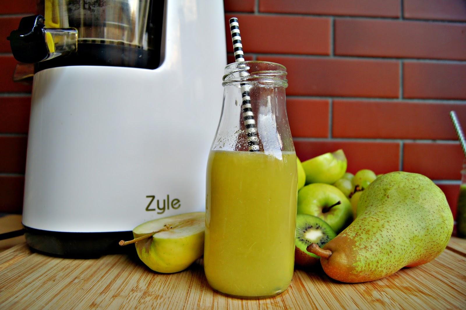 3 zielone zdrowe soki - czyli wyciśnij z życia co najlepsze.