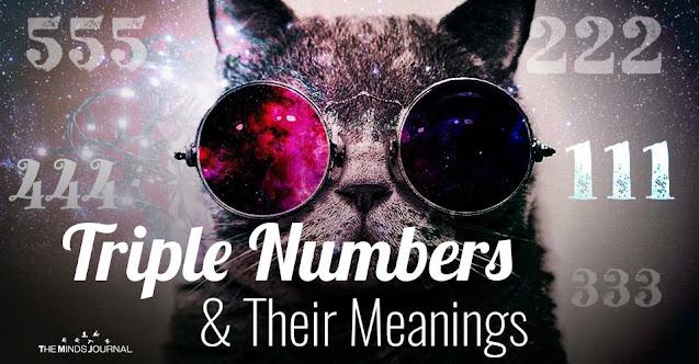 Ý nghĩa tâm linh của một số dãy số lặp 3 lần thường gặp