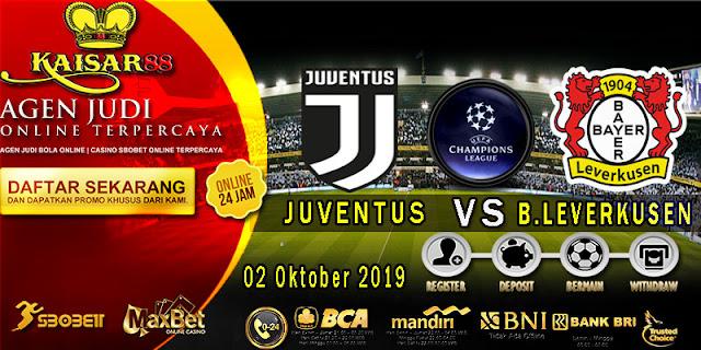 Prediksi Bola Terpercaya Liga Champions Juventus vs Bayer Leverkusen 2 Oktober 2019