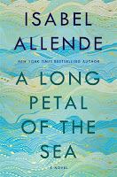 A Long Petal of the Sea by Isabel Allende book cover and review
