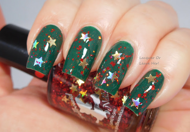 Spellbound Nails Christmas Morning