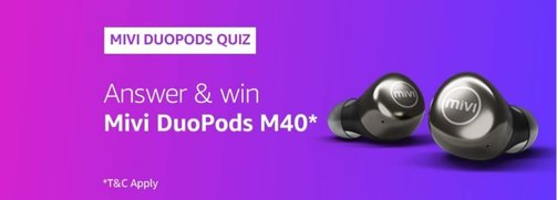 Amazon Mivi DouPods M40 Quiz