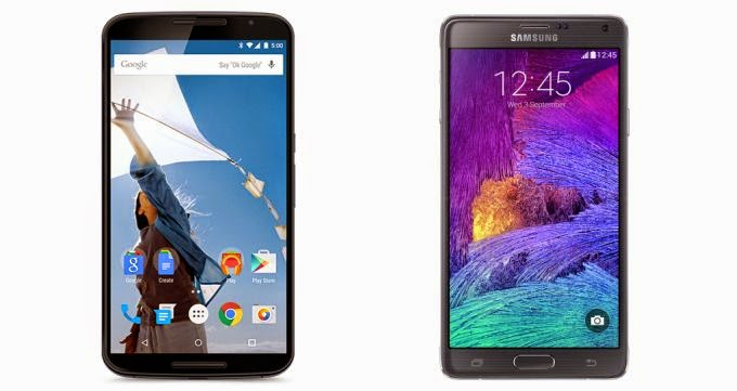 Choosing the best smartphone of the year! Samsung Galaxy Note 4 vs Google Nexus 6