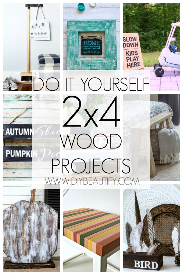 do it yourself 2x4 wood projects collection