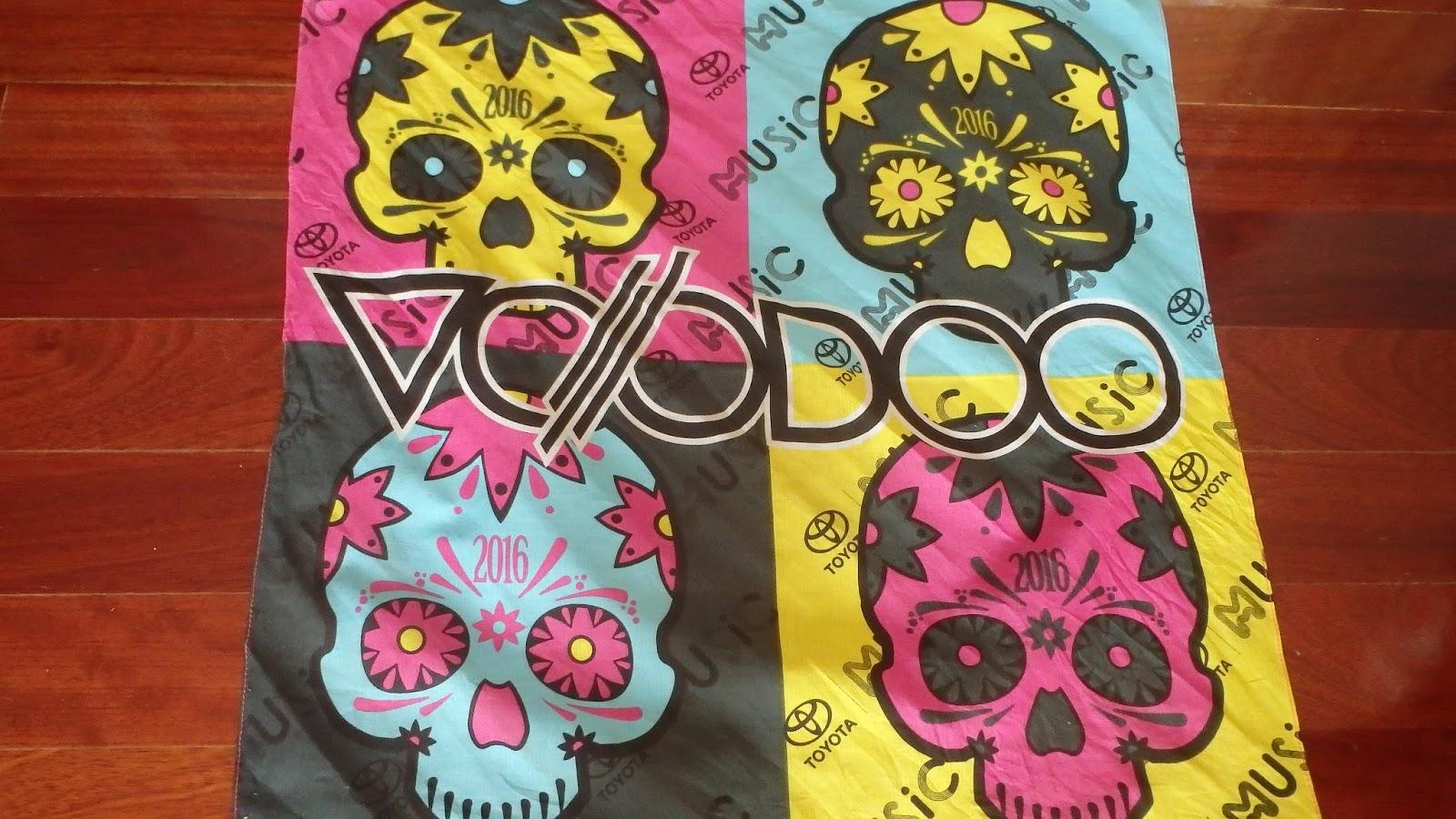 Voodoo Fest 2016 bandanna