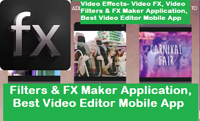Video Effects Best Video Editor Mobile App