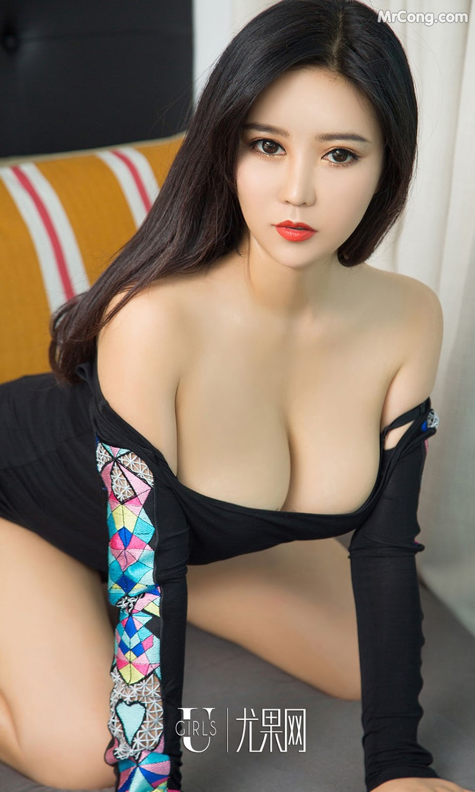 Image UGIRLS-Ai-You-Wu-App-No.1129-Ai-Na-MrCong.com-010 in post UGIRLS – Ai You Wu App No.1129: Người mẫu Ai Na (艾娜) (35 ảnh)